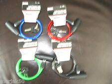 BIKE LOCK CABLE WITH KEYS COMES IN BLACK, GREEN, RED AND BLUE tool bench