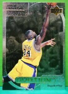 Shaquille O'Neal insert card Curtain Calls 1999-00 Upper Deck Ovation #CC6