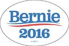 Bernie Sanders 2016 For President Oval Bumper Sticker Decal