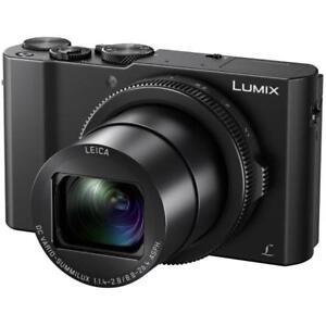 "Panasonic Lumix DMC LX10 20mp 3"" Digital Camera New Agsbeagle"