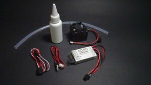 AD-RC Smoke Generator System Unit Set For 1/10 RC Car Buggy 1/14 Tractor Truck