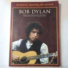 Bob Dylan guitar song music book