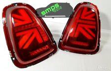 Mini LED Union Jack Rear tail Lights R56, R57, R58, R59 2011 - 2015 Gen 2 (LCI)