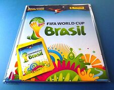 PANINI WM 2014 WC Brazil - Deluxe Starter Hardcover Album + 4 Tüten Neu/OVP