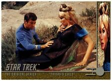 """Friday's Child"" #98 Star Trek Original Series 2 Sky Box Trade Card (C839)"