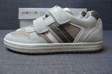 Geox J Vita A mesh Kinder Schuhe Sneaker mit Klettverschluss Größe 32 Neu Top