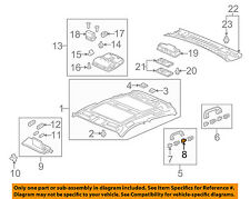 Acura HONDA OEM 2013 ZDX Interior-Roof-Grip Handle Cap 83246SNAA01ZU