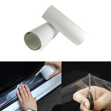 """6"""" x 60"""" Clear Car Door Sill Edge Paint Protection Scratches Film Vinyl Sheet"""