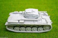 SCALA 1/48 – 28 mm WW2 Tedesco Panzer II Ausf. un serbatoio in resina una BLITZKRIEG Miniatures