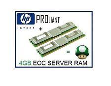 4GB (2x2GB) ECC FB-DIMM Memory Ram Upgrade HP Proliant BL20p G4 Server