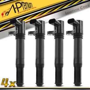 4x Ignition Coils for Fiat 500 500C Ritmo III 198 Alfa Romeo Mito 955 1.4L 4cyl
