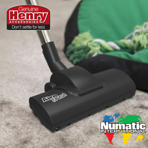 Numatic Pet Hair Airo Brush Henry Hoover Turbo Carpet Floor Tool GENUINE - BLACK