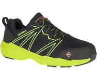 Merrell Men's Fullbench Superlite Alloy Toe Safey Shoes J17539
