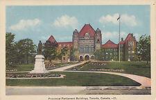 Provincial Parliament TORONTO Ontario Canada 1930-40s Tourist Association PC