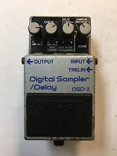 Boss Dsd-2 Digital Sampler Delay Rare Vintage Guitar Effect Pedal Mij Japan