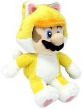 SUPER MARIO 3D WORLD - MARIO GATTO PELUCHE - 24Cm. - Plush Cat Wii U Pupazzo