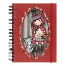 BRAND NEW cute Santoro Double Cover Wiro Bound Journal - Little Red Riding Hood