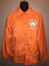 Vintage 70s Clemson Tigers Chalk Line Jacket 1978 Gator Bowl CHAMPS vs Ohio S