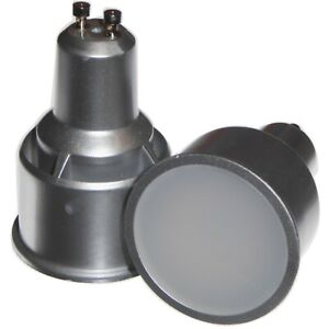 5W GU10 LED Long Neck 74mm Lamp 400lm 15,000hr Replaces 11 watt CFL Light Bulbs