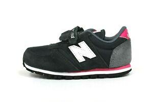 New Balance Toddler's KE420GEI Shoes (TD) NEW AUTHENTIC Grey/Pink KE420GEI