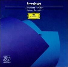 Stravinsky: Les Noces / Mass ~ Bernstein - Music