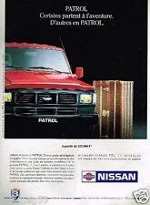 Publicité advertising 1991 Nissan patrol