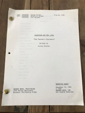 """Scarecrow and Mrs. King TV show script - """"The Pharaoh's Engineers"""""""