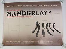 Manderlay movie poster - Lars Von Trier - original uk quad poster