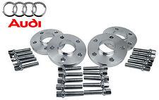 4 Pc Audi New Model 15 MM & 20 MM Wheel Spacers Pattern 5x112 C.B 66.6 W/ Bolts