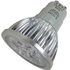 LAMPADA FARETTO GU10 SPOT LUCE CALDA 4W POWER LED GU 10 CASA UFFICIO VETRINE