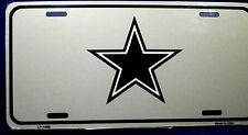 NFL license plate Navy Blue Star  Aluminum Auto tag New Made in U.S.A. LP-1456