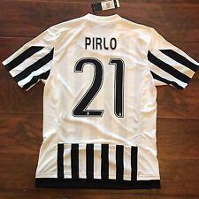 New 2015/16 Juventus Home Jersey #21 Pirlo Adidas Medium BNWT Camiesta Trikot