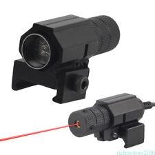 For Air Gun HuntingTactical Mini Pistol Red Dot Laser Sight Optics Matt Black F