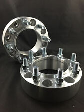 """2) Hubcentric Wheel Spacers Adapters ¦ 8X6.5 8X165.1 ¦ 14X1.5 ¦ 3"""" Inch 75mm"""