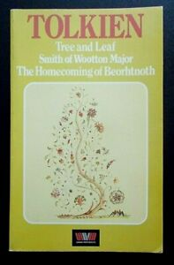 J. R. R. Tolkien Tree and Leaf Smith of Wootton Major book Unwin Paperbacks 1982