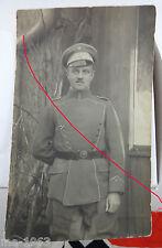 original Foto Ulan feldgrau Preussen 1918  Leutnant von Berg