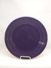 "Fiesta 10 1/2"" Dinner Plate Plum Purple Retired Fiestaware F1M"