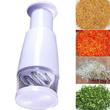 Kitchen Pressing Food Chopper Cutter Slicer Peeler Dicer Vegetable Onion Garlic