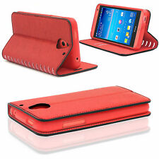 New Slim Luxury Leather Stand Stylish Wallet Card Case Cover for Sony Xperia L1