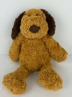 "The Manhattan Toy Company Duffy Dog 13"" Tall Animal Plush Brown Puppy Lovey Cute"