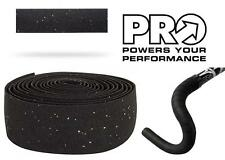 PRO Classic Comfort Road Bike Handlebar Tape 2.5mm Thick Bar Wrap BLACK PRTA0048