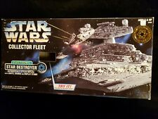 Star Wars Kenner Electronic Collector Fleet Star Destroyer Collectible Ship