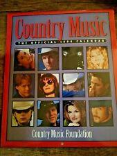1998 Country Music Foundation Official Calendar NIP