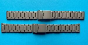Titan Wristwatch Strap With Folding Clasp 18 20mm Matte Hypoallergenic /99