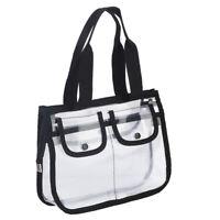Transparent Cosmetics Toiletry Bag Travel Makeup Pouch Sundry Bag Organizer EVA