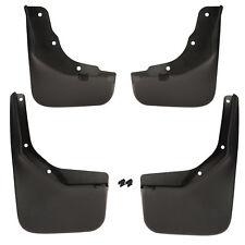 OE NEW 13-19 Escape Front & Rear Right & Left Molded Splash Guard Set (4) Black