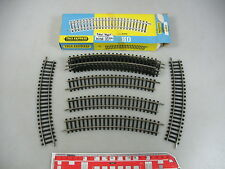 AL259-0,5# 10x Trix Express/International H0/DC 4212 Piezas de vía curvo W+