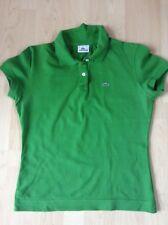 Lacoste Damen-Poloshirt grün, Größe 44, Original