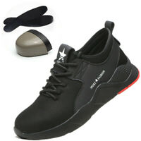 Work Safety Boots Mens Steel Toe Cap Shoes Breathable Trainers  Hiking Climbing