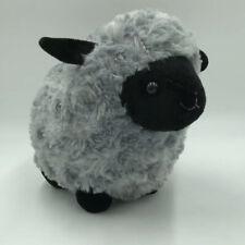 "Gray Black Sheep black face plush by Kelly Toy Stuffed Animal 9"""